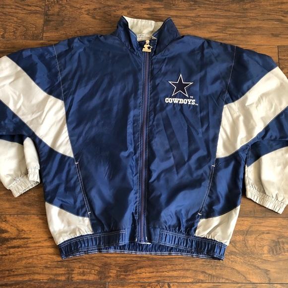super popular be0f4 2cebc Dallas Cowboys - Classic Windbreaker - VINTAGE NFL
